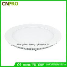 Nenhuma luz de painel redonda fina super do diodo emissor de luz 24W do laser da cintilação com 3 anos de garantia