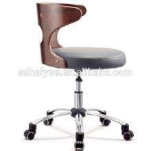 2017 silla de oficina de contrachapado de estilo más nuevo al por mayor silla de ocio giratoria de muebles usados