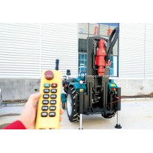 200m Movable Tractor Mounted Water Well Drilling Rig