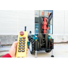 Передвижная установка для бурения водяных скважин на тракторе длиной 200 м