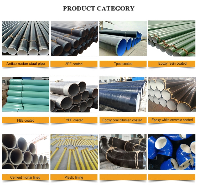anticorrosion steel pipe category