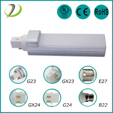 Led pl light 6W g23 led bulb