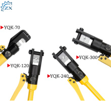2018 most popular hydraulic crimping tool 400 / power bolt terminal crimper 60t