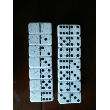 Plastic Different Method Print Logo Dominoes