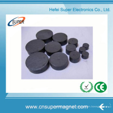 China Ímã aglomerado forte permanente do disco da ferrite de Strontium C5 C8