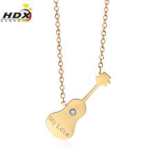 Collier en dentelle à la mode Collier bijoux en acier inoxydable (hdx1146)