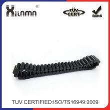 Alta calidad Epoxy negro diametralmente magnetizar imanes permanentes de cilindro