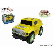B / o bump & go dançando hummer carro de brinquedo de plástico