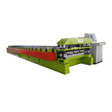 Trapezoidal roofing tile sheet roll forming machine