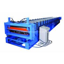 Máquina perfiladora de tejas de acero de doble capa