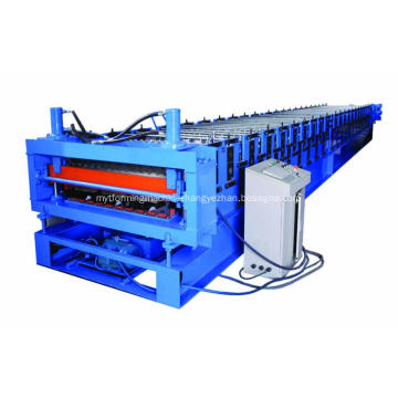 Roof tile roll forming machine double layer steel