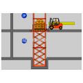 Направляющая типа подъемника, работы Цена платформы ,платформы воздушной работы