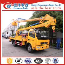 18Mètres Dongfeng dfac camion de travail en haute altitude à vendre