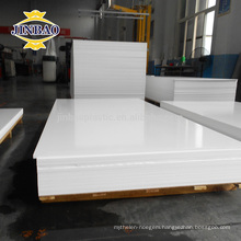 Jinbao plastic factory 1220x2440mm 2mm 3mm sheet rigid pvc plate