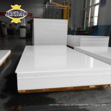 Jinbao fábrica de plástico 1220x2440mm 2mm 3mm folha placa de pvc rígido