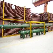 Encabezado de piezas de caldera de vapor de gasóleo
