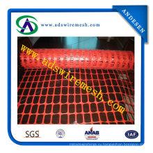 Пластиковые Экструдированный Оранжевый Забор Безопасности