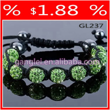 clay shamballa bracelet