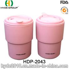 Eco-Friendly Reusable Plastic Coffee Mug (HDP-2043)