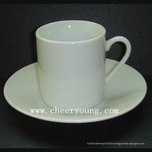Tasse à expresso avec soucoupe (CY-P507)