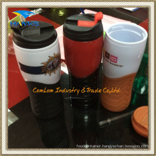 14oz Double Walled Plastic Thermal Tumbler (CL1C-E372)