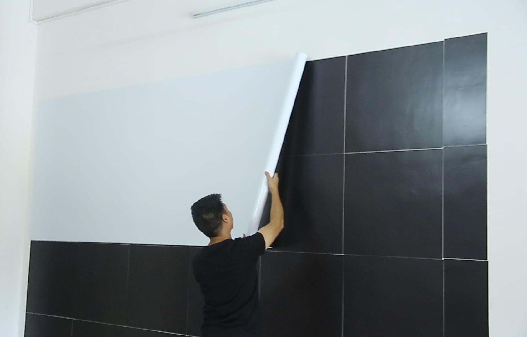 Whiteboard installation