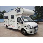 Tangan kanan mengendarai Iveco Hunchback Caravan Travel Trailer Euro4