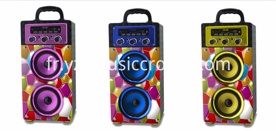 colorful speaker
