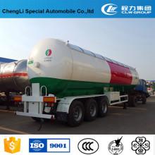 Caminhão de reboque do transporte do petroleiro do LPG de 60000 litros