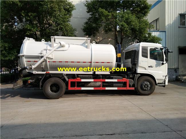 Dongfeng 10m3 Ordure Tank Trucks