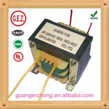 fabriquer le transformateur EI 86 220v 50Hz 24v 5a