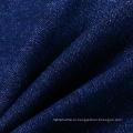 Синий хлопчатобумажный полиэстер Spandex с матовой нитью Ткань