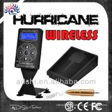 Hurricance-2 Tattoo Stromversorgung mit drahtlosem Fußpedal
