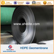 Glatte texturierte Oberfläche HDPE Geomembranen 0,5mm bis 2,5mm