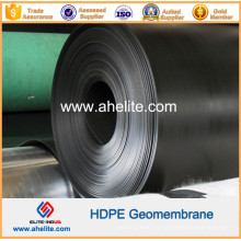 Suave superficie texturizada HDPE Geomembranes 0.5mm a 2.5mm