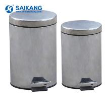 SKH034-1 poubelle d'acier inoxydable d'hôpital avec le prix bon marché