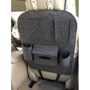 Car Seat Back Multi-Pocket Hanging Storage Bag