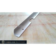 Dobrando a tela de processamento profunda frame no perfil de alumínio