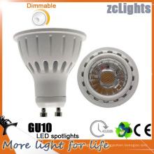 GU10 7W COB LED Lâmpada LED Spotlight (GU10-A7)