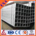 GI tube d'acier rectangulaire pour la construction