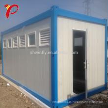 40 pés de casa expansível pronta moderna fabricada do recipiente do desempenho da sala de visitas do bloco liso da casa pré-fabricada