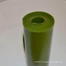 Feuille / feuille en plastique ignifuge vert-foncé d'unité centrale