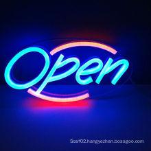 Shanghai Liyu,12V acrylic board open neon led sign for shop deco