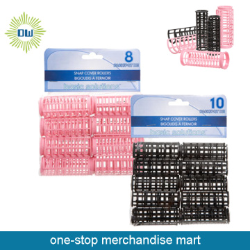 Dollar Items of Plastic Hair Roller Set