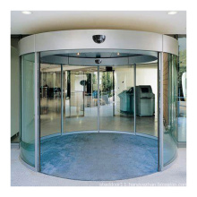 Deper DCS62S automatic curved shape glass sliding door for hotel airport shopping mall