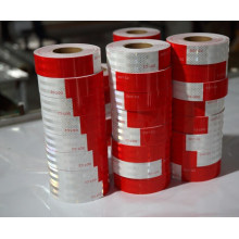 DOT-C2 Standard Red and White Reflective Vehicle Tape