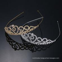 2016 New Fashion Rhinestone Wedding Crown And Tiara