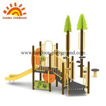 Sonnenschein-Natur-Spielplatzgeräte im Freien für Kinder