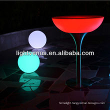 factory direct sale fresh Iphone control rechargeable color changing honey colored outdoor furniture