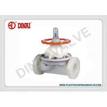 Asahi Plastic Diaphragm Valve Similar Type,upvc,cpvc,pvdf,pph Material For Option